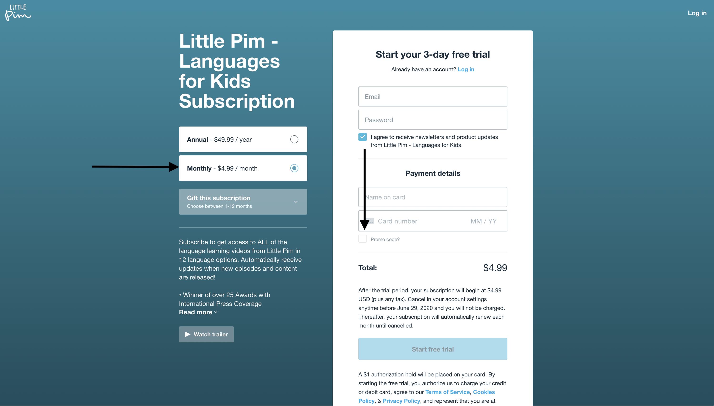 Little Pim Apto Check out